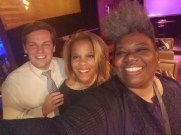 City Council Candidate, Matt Westmoreland, Rochelle Wharton of Culinary Vegg Out and C.I.P.
