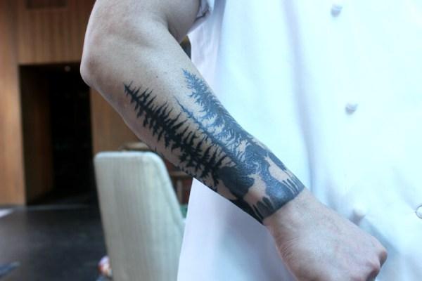 Mauricio Santelice's tattoo