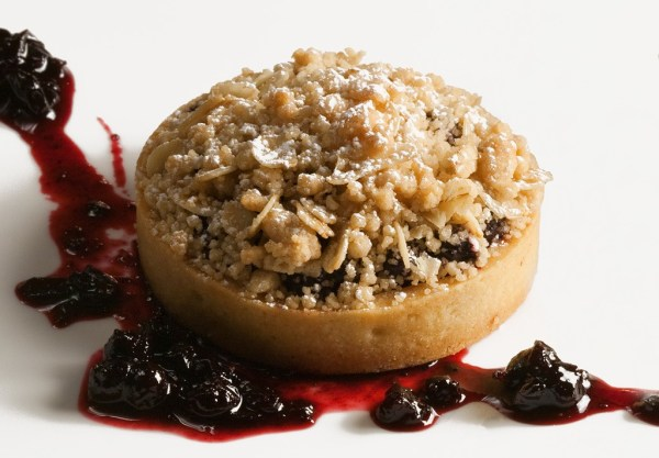 Huckleberry Streusel Pie by Pastry Chef Jennifer McCoy. Photo by Battman. Pies, ebook, cookbook