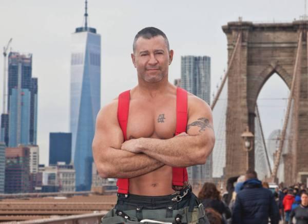John Vanwallendael - NYC Firefighters Calendar - 2018