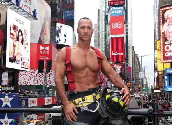 Robert Morgan - NYC Firefighters Calendar - 2018