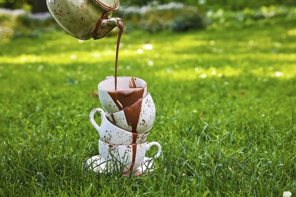 Hot Chocolate by Chef Genevieve Meli. Photo by Battman. Sweet Nature cookbook, ebook, 2016.