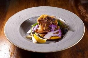 Cauliflower dish by Chef Edward Brumfield