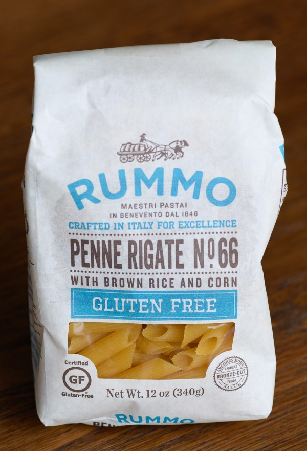 Dry GF Pasta from Rummo