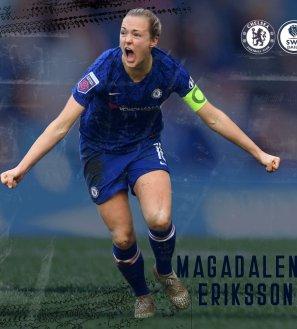 Magdalena Eriksson Chelsea Women's Profile Header
