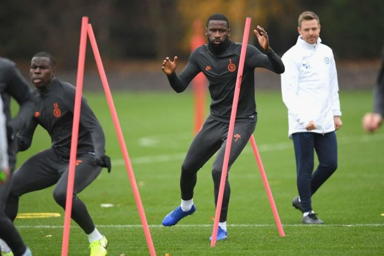 Rudiger seems to be spending most of his days on the training paddock in recent times. Darren Walsh/Chelsea FC via Getty Images