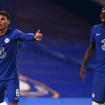 Chelsea Centre Backs for the game against Sheffield United