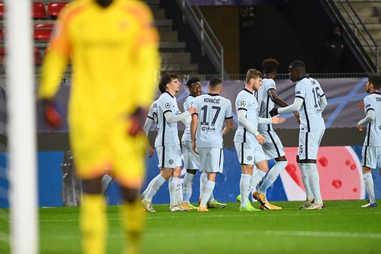 Mason Mount with the assist. Chelsea one up.