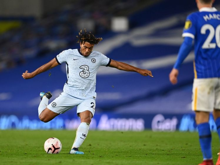 Reece james stands out