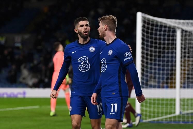 Christian Pulisic makes it Chelsea 3-1 Leeds United