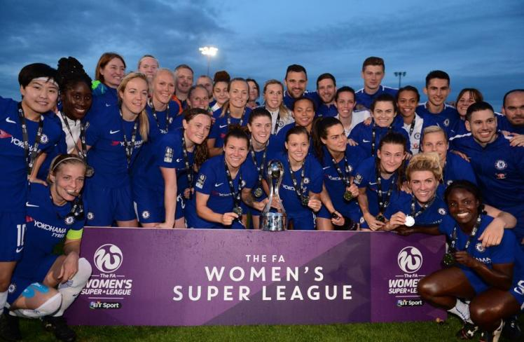 The WSL 2019-20 Champions!