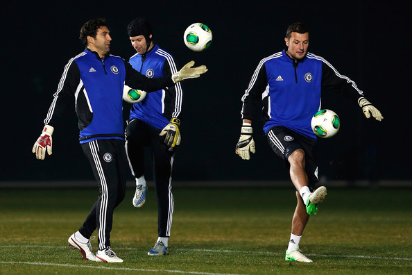 Both Petr Cech and Henrique Hilario have joined Chelsea's backroom staff.