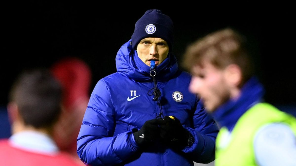 Tuchel has just started at Chelsea
