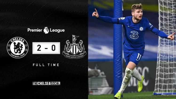 Chelsea 2-0 Newcastle Final Score Edit.