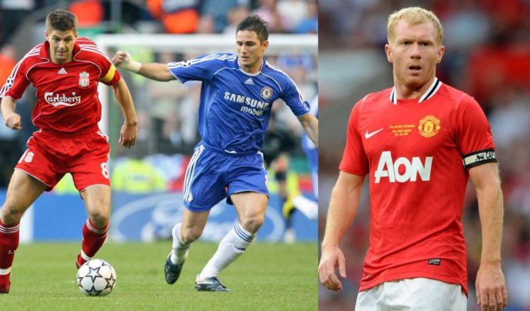 Gerrard, Lampard and Scholes are victims of negativity and persistent comparison, despite their differing attributes.