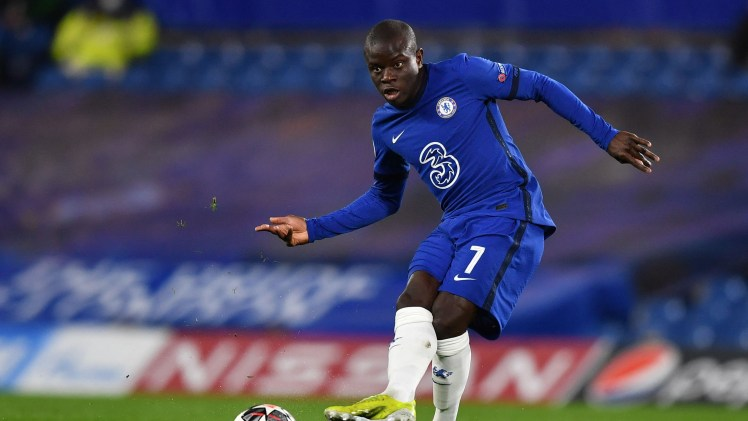 N'Golo Kante continues to be the best player on the pitch.