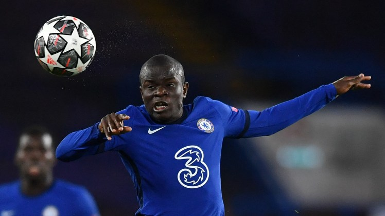 N'Golo Kante dominated the Chelsea vs Atlético tie.