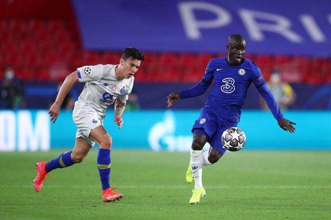 N'Golo Kante was superb in another Chelsea knockout tie against Porto  (Photo by Fran Santiago/Getty Images)