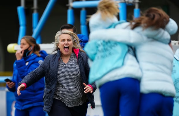 Emma Hayes has established herself as the best manager in the women's game, she is a big part of our best moments this season (Photo by Marc Atkins/Getty Images)