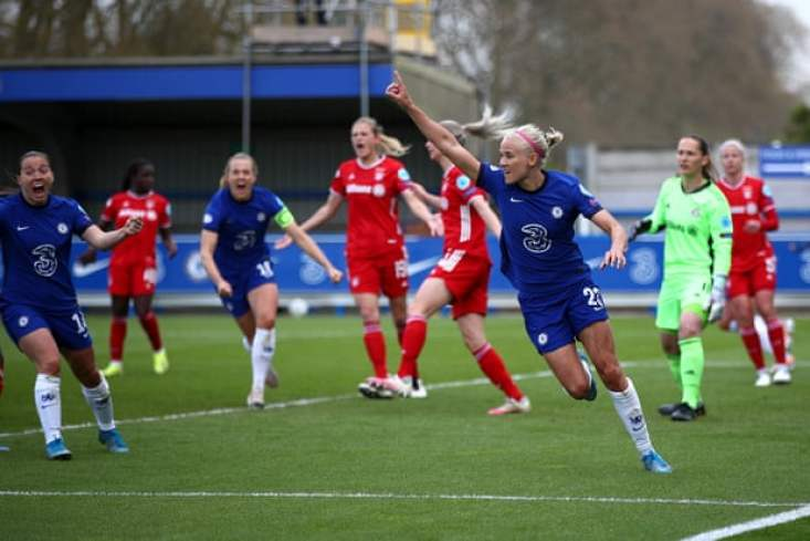 Pernille Harder makes it Chelsea 3-1 Bayern and sends to the Blues to Gothenburg.