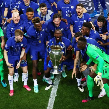 Chelsea, a club with success in it's very DNA // Via REUTERS/Michael Steele TPX IMAGES OF THE DAY