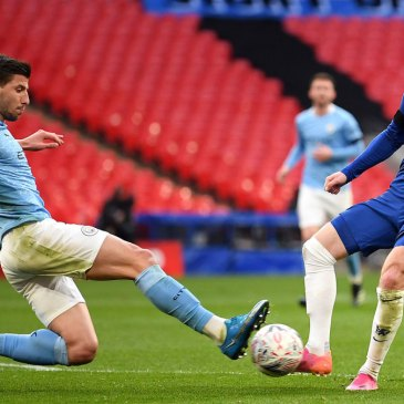 Heavyweight Clash: Chelsea tackle Man City as both sides look to strike a crucial early blow. Credit | Michael Regan/The FA/Getty Images