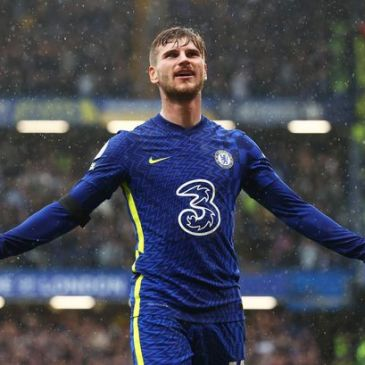 Timo Werner saw yet another goal ruled out by VAR in Chelsea's win over Southampton (Image: Clive Rose/Getty Images)
