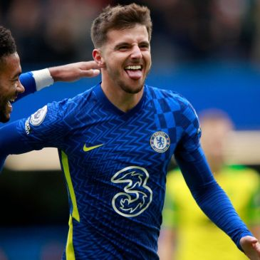 Mason Mount was the star of the show as Chelsea crushed Norwich. Credit Getty Images