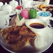 Roti prata, breakfast of champions