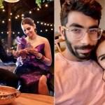 IPL 2021 suspended: Sanjana Ganesan reunites with husband Jasprit Bumrah at residence, shares lovable image | Cricket Information