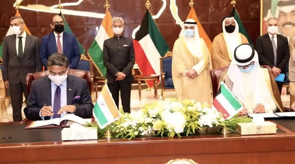 India - Kuwait signs pact to protect rights of Indian domestic workers