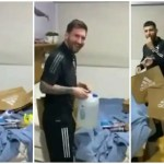 Lionel Messi celebrates thirty fourth birthday, Argentina gamers shock Barcelona star with presents and cake – WATCH | Soccer Information
