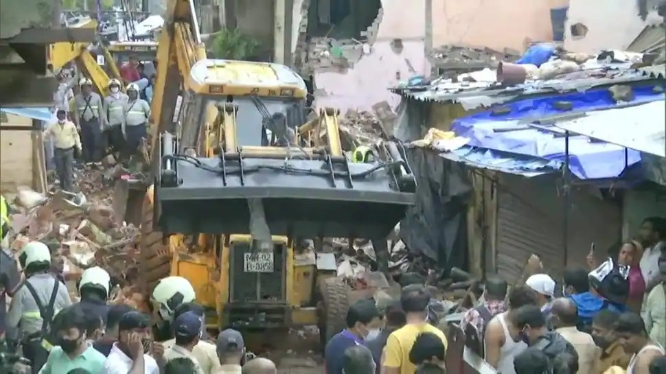 Mumbai rains: Two building crashes claim lives of 13, including 8 children; contractor booked