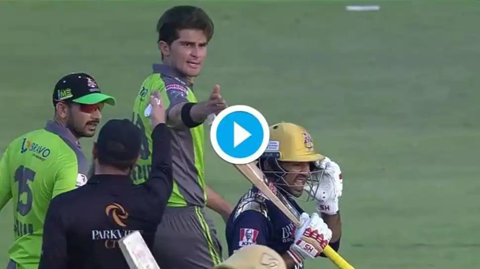 Shaheen Afridi, Sarfaraz Ahmed get into ugly spat in PSL 2021 encounter - WATCH