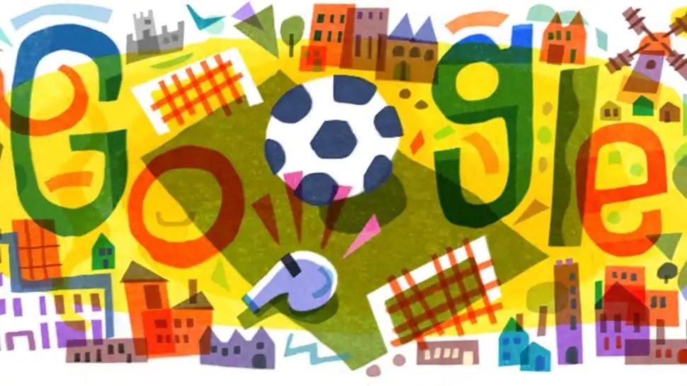 UEFA Euro 2020: Google dedicates doodle to Europe's football carnival
