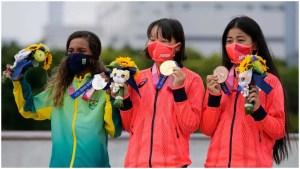 Tokyo Olympics: Japan's 13-year-old Momiji Nishiya claims first gold in women's skateboarding
