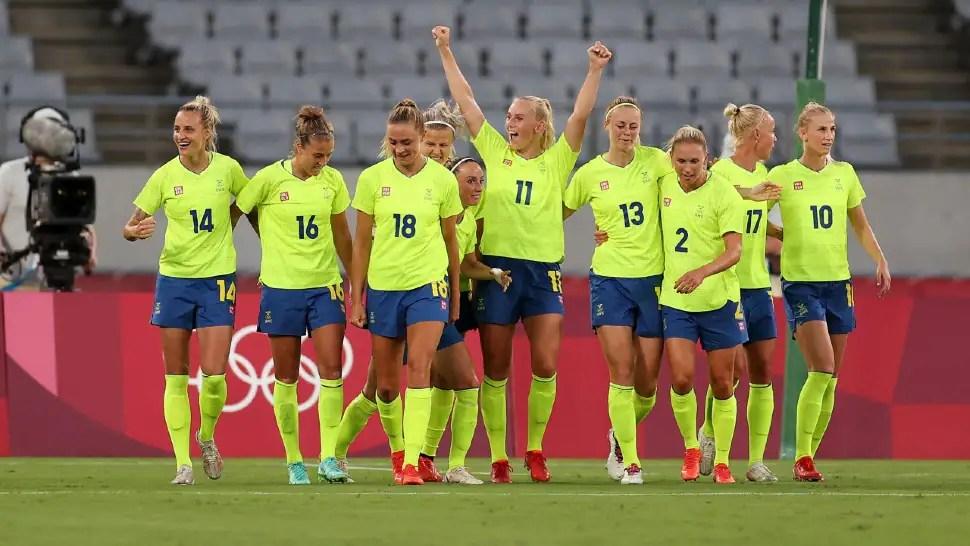 Tokyo Olympics: Sweden snaps 44-match unbeaten streak of US with 3-0 win