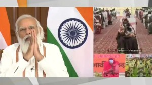 PM Narendra Modi lashes out at Opposition for stalling Parliament; hails UP CM as 'Karma Yogi'