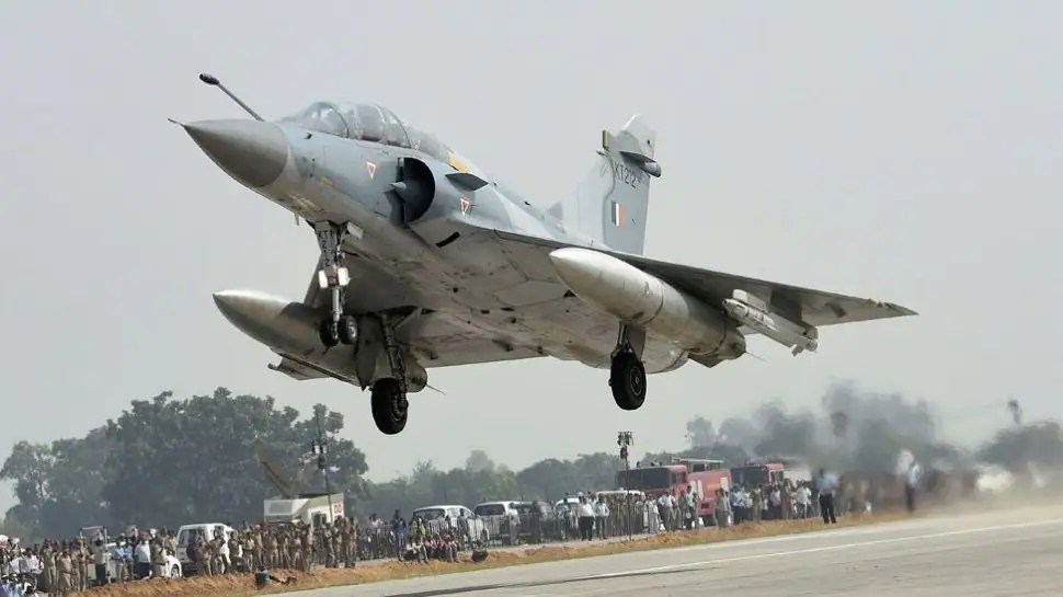 IAF signs deal with French Air Force to purchase phased out Mirage 2000 fighter aircraft