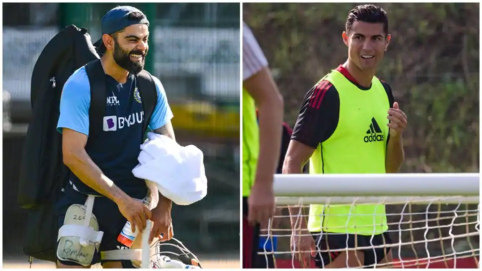 Virat Kohli and Cristiano Ronaldo in Manchester: Man United delighted to host 'Two GOATS in one city'