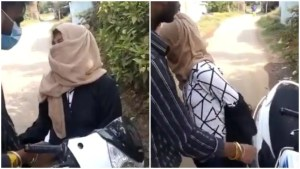 Caught on camera: Mob forces woman to remove burqa and hijab in Madhya Pradesh, 2 held