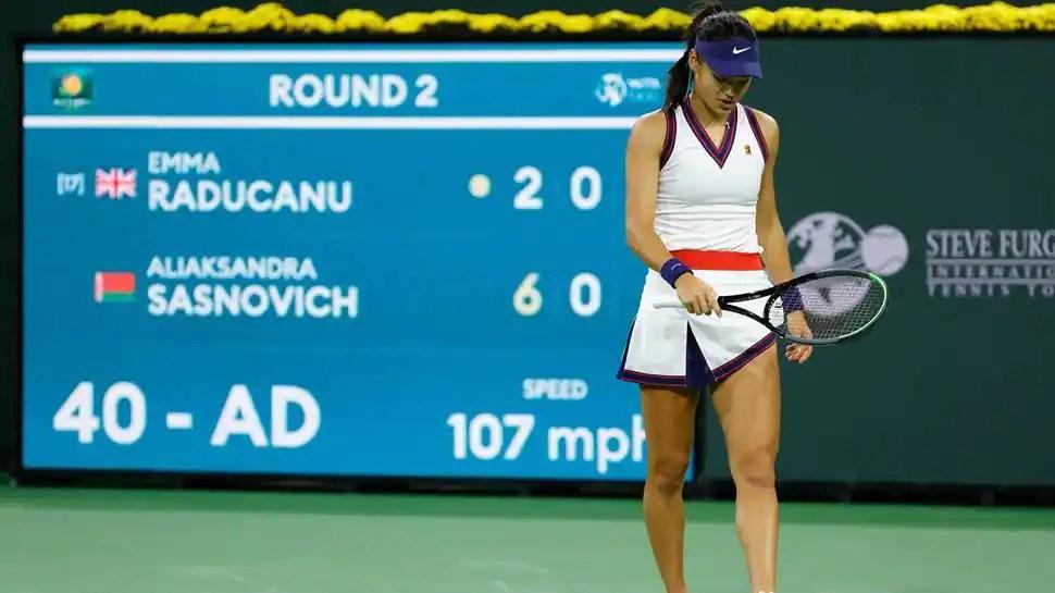 Emma Raducanu falls in first match since US Open triumph