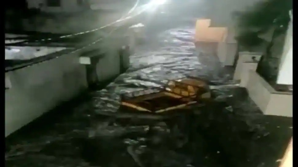 Hyderabad rains: Videos of flooded restaurant, truck being swept away emerge - watch