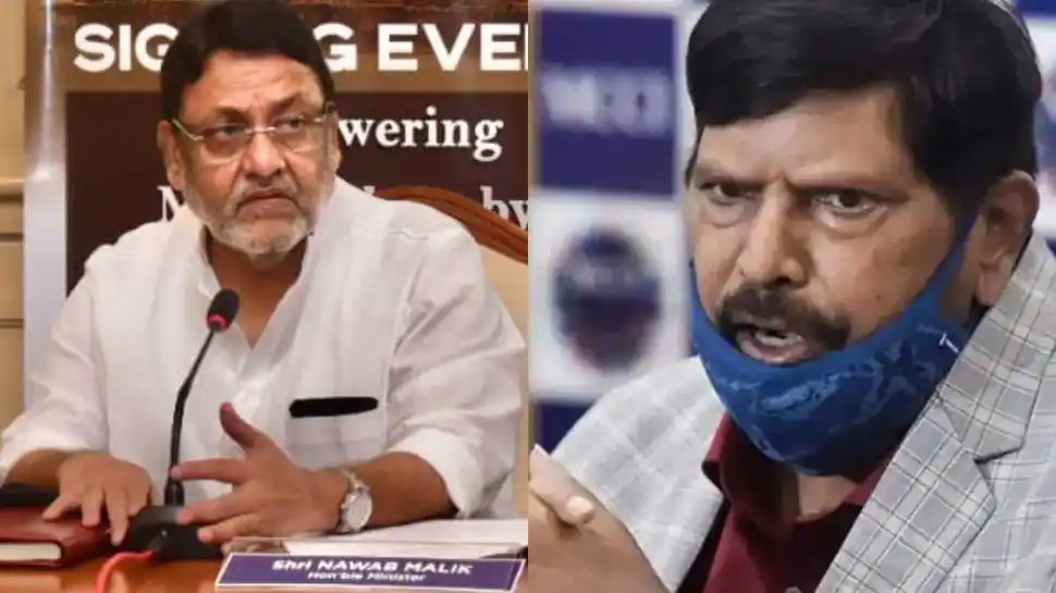NCB has no connection with BJP: Ramdas Athawale refutes Nawab Malik's allegations