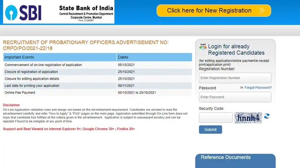 SBI PO Recruitment 2021 job alert : Apply for 2056 vacancies at sbi.co.in, check direct link, important dates, eligibility, age, qualification, salary here