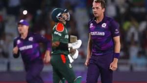 T20 World Cup 2021: Scotland stun Bangladesh by 6 runs in a thriller