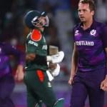 T20 World Cup 2021: Scotland stun Bangladesh by 6 runs in a thriller | Cricket Information