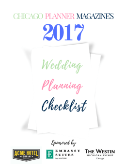 See our Venues & Entertainment Guide to Get this checklist