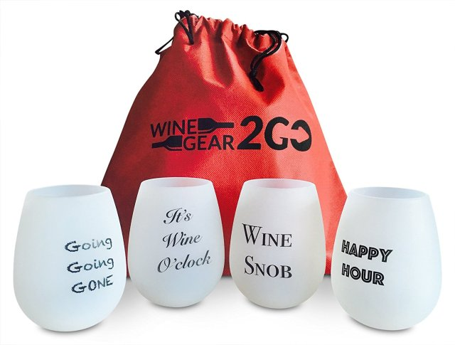 These are shatterproof wine glasses and make a great gift this holiday season