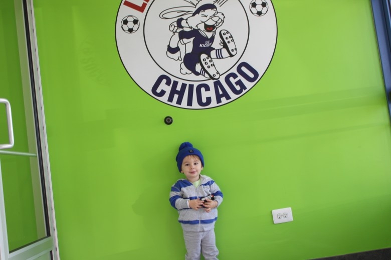 Soccer lessons at Lil' Kickers